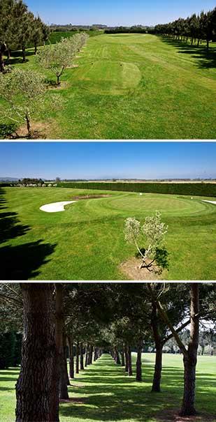 hoyo 1 Castropol Golf