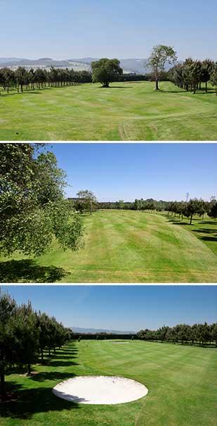 hoyo 3 Castropol Golf