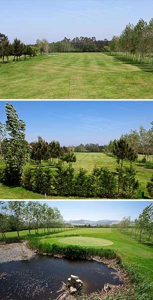 hoyo 6 Castropol Golf