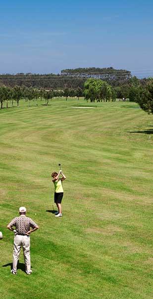 hoyo 8 Castropol Golf