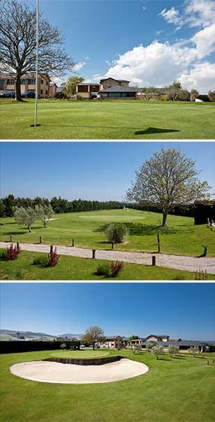 hoyo 9 Castropol Golf